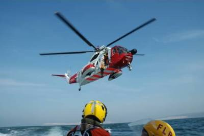 On Exercise with the coastguard